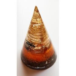 Orgonite tipi orange T4