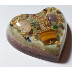 Orgonite grand coeur (75m2)