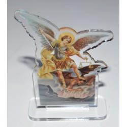 Saint Michel plexiglas 7 cm